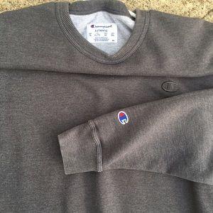 Vintage Champion Grey Crewneck sweatshirt. Size XL